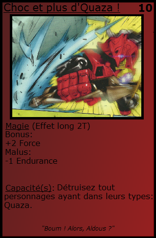[Blog] Projet 2: BIONICLE Cards & HEROFACTORY Cards - Page 13 Chocet10