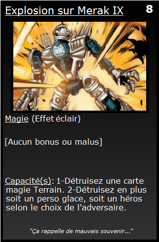 [Blog] Projet 2: BIONICLE Cards & HEROFACTORY Cards - Page 13 Explos10