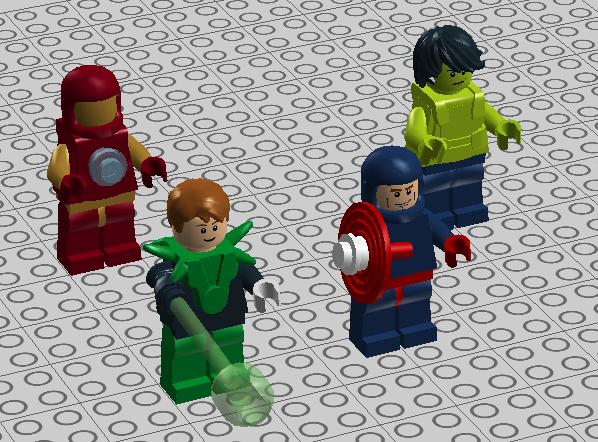 [Figurines] LEGO dévoile les nouvelles figurines DC & Marvel - Page 3 Heroes10