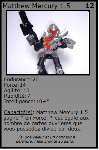 [Blog] Projet 2: BIONICLE Cards & HEROFACTORY Cards - Page 12 Matthe10