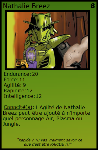 [Blog] Projet 2: BIONICLE Cards & HEROFACTORY Cards - Page 13 Nathal10
