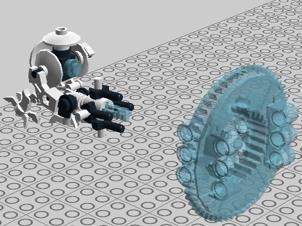 [MOC] Projet : Touts les personnages de Portal en Bionifigs Portal12