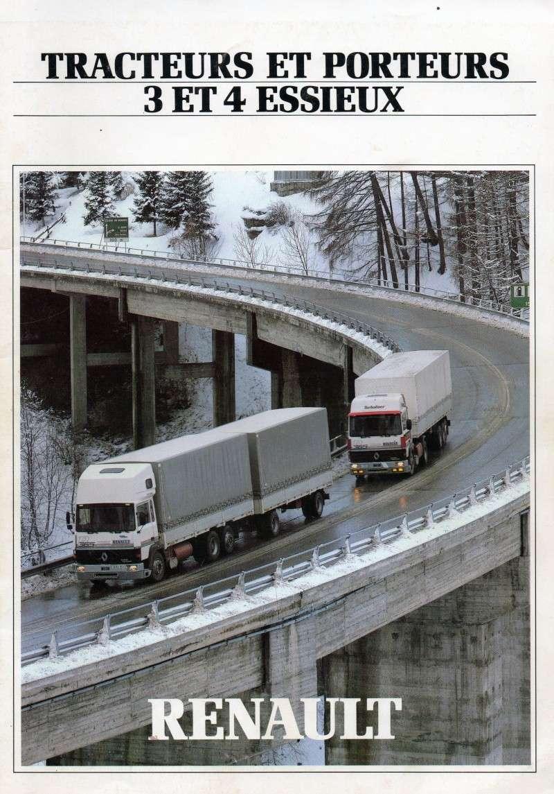 Pub et catalogues RENAULT....les camions Img71510
