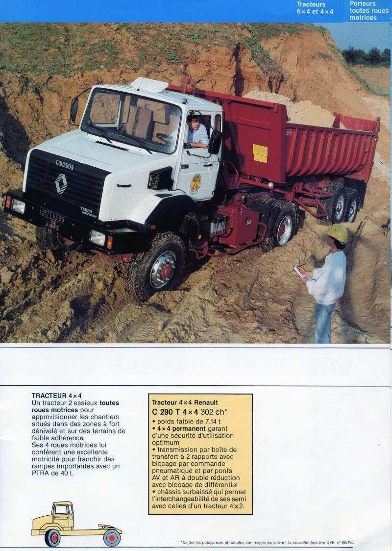 Pub et catalogues RENAULT....les camions Img72710