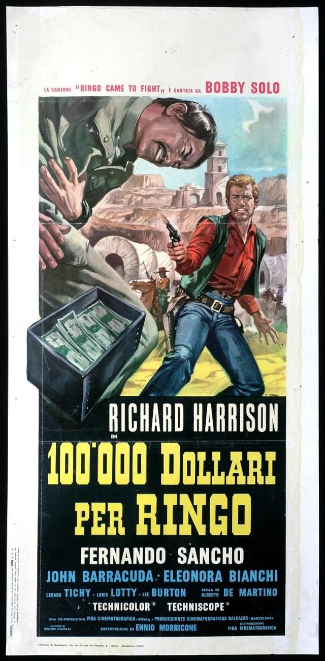 100.000 dollars pour Ringo - Centomila dollari per Ringo - 1965 - Alberto de Martino 100_0011