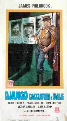 2.000 dolares por Coyote / Django cacciatore di taglie . 1966 . Leon Klimovsky  . Django10
