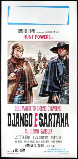 Django et Sartana - Quel maledetto giorno d'inverno... Django e Sartana all'ultimo sangue - 1970 - Demofilo Fidani Django11