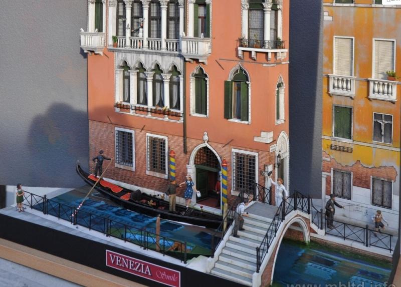 """"""" venise """" par pietro ballarini ;diorama master box Master11"""