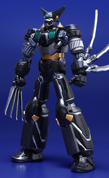 Fewture Ex Gokin Getter Robot Black Getter Ryoma Mode Repaint Version Black210