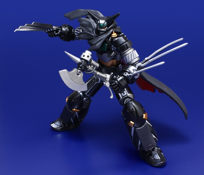 Fewture Ex Gokin Getter Robot Black Getter Ryoma Mode Repaint Version Black212