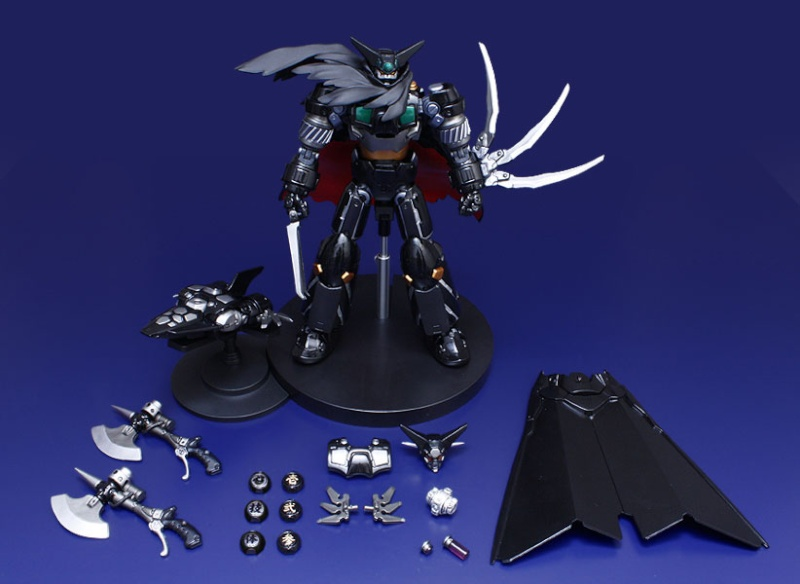 Fewture Ex Gokin Getter Robot Black Getter Ryoma Mode Repaint Version Black213