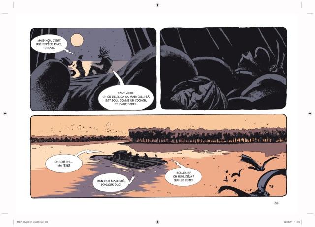 Les Aventures d'Huckleberry Finn, de Mattotti Hb8910