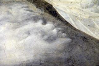 Clamorosa scoperta nell' affresco di Giotto Diavol10