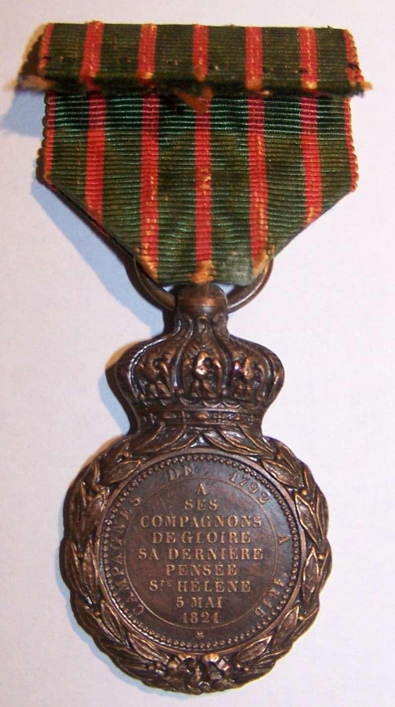 Médaille de Sainte Hélène Napoléon Ier 100_7847