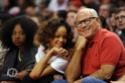 Rihanna a un match de basket. Norma601
