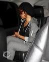 Rihanna aperçu en voiture à Bervely Hills. Norma610