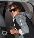 Rihanna aperçu en voiture à Bervely Hills. Norma614