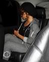 Rihanna aperçu en voiture à Bervely Hills. Norma615