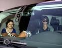 Rihanna aperçu en voiture à Bervely Hills. Norma616