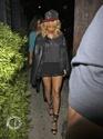"Rihanna arrive au club ""Greystone"" à L.A Norma845"