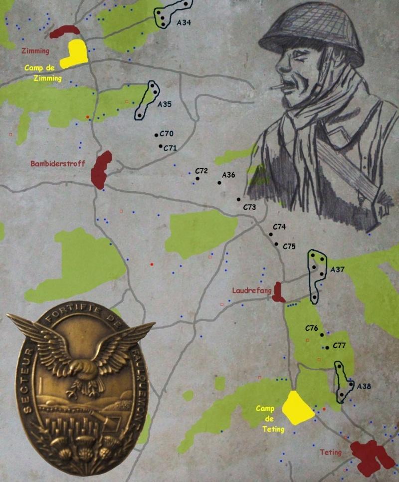 Le Secteur Fortifié de Faulquemont Carte_18