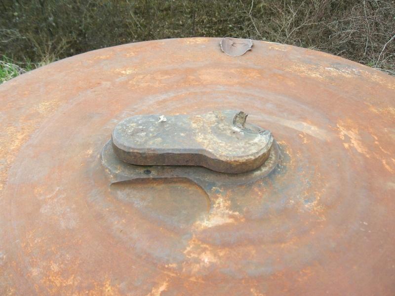 Les cloches blindées (ligne maginot ) Dscf2611