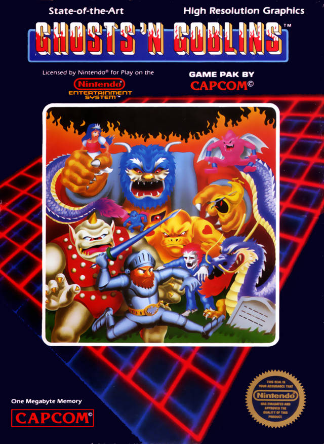 [MultiTest]Ghouls 'n Ghosts 'n Goblins ('n phuck 'n phuncking hard games) Gng-sn10