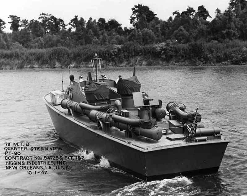 Vedettes lance-torpilles PT-BOATS (Pacifique) 15-01110