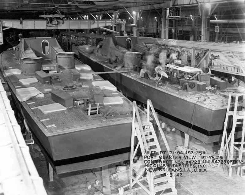 Vedettes lance-torpilles PT-BOATS (Pacifique) 15-05110