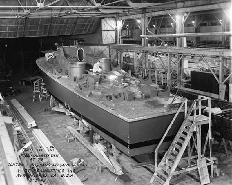 Vedettes lance-torpilles PT-BOATS (Pacifique) 15-06110