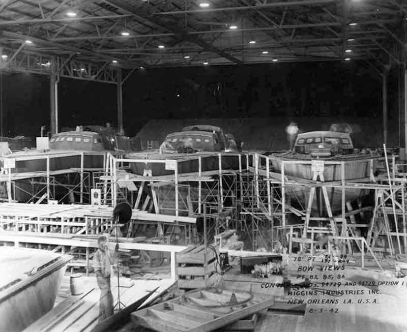 Vedettes lance-torpilles PT-BOATS (Pacifique) 15-08110