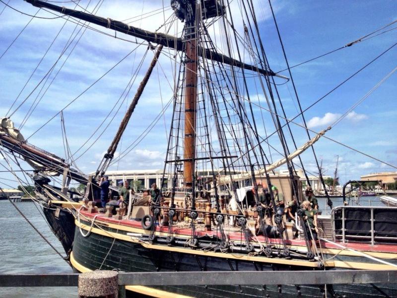 Les plus belle photos du HMS Bounty 15077010