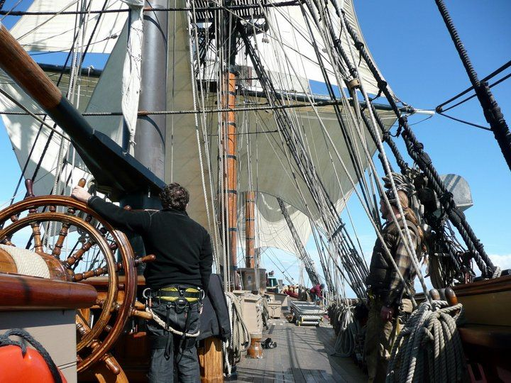 Les plus belle photos du HMS Bounty 18136110