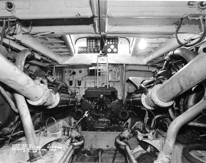 Vedettes lance-torpilles PT-BOATS (Pacifique) 19-03110