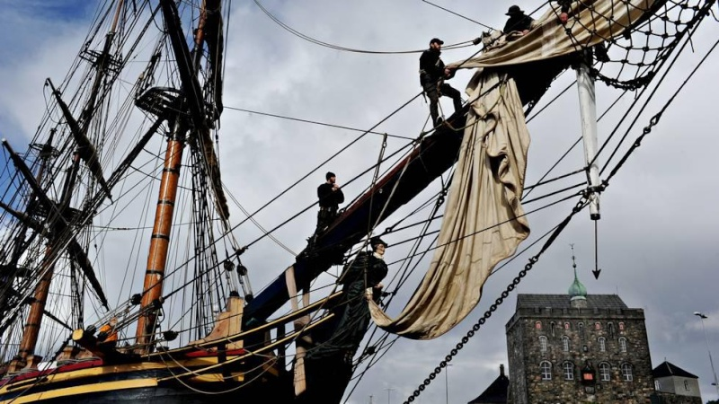 Les plus belle photos du HMS Bounty 19465810