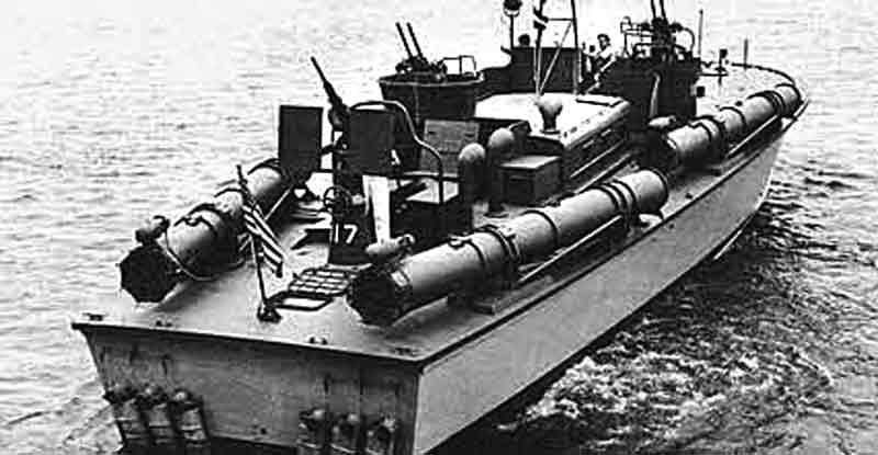 Vedettes lance-torpilles PT-BOATS (Pacifique) 2-04a110