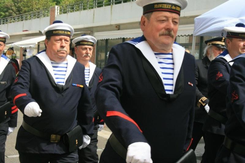 Fete de la mer, Le Tréport , Corps des Torpilleurs et Marins 31152010