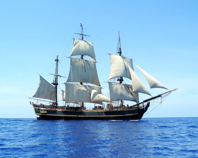 Les plus belle photos du HMS Bounty - Page 3 31959410