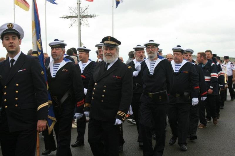 Fete de la mer, Le Tréport , Corps des Torpilleurs et Marins 54497310