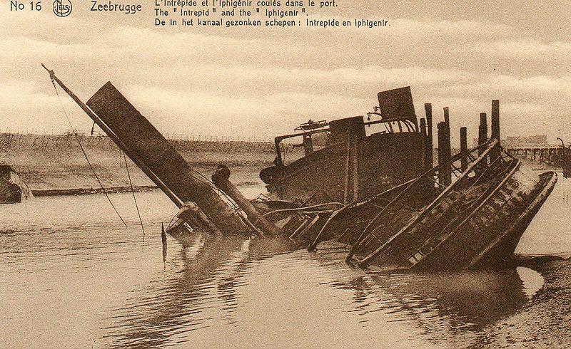Souvenirs de Guerre : Zeebrugge 1918 - Page 2 800px-10