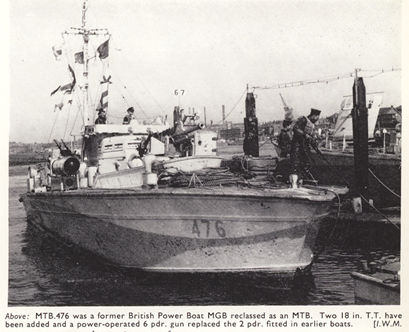 Vedettes lance-torpilles  (ROYAL NAVY) Bpb20m10