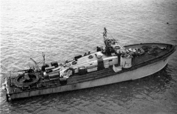 Vedettes lance-torpilles  (ROYAL NAVY) Hms20m11