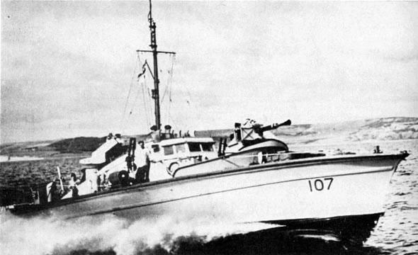 Vedettes lance-torpilles  (ROYAL NAVY) Hms20m12