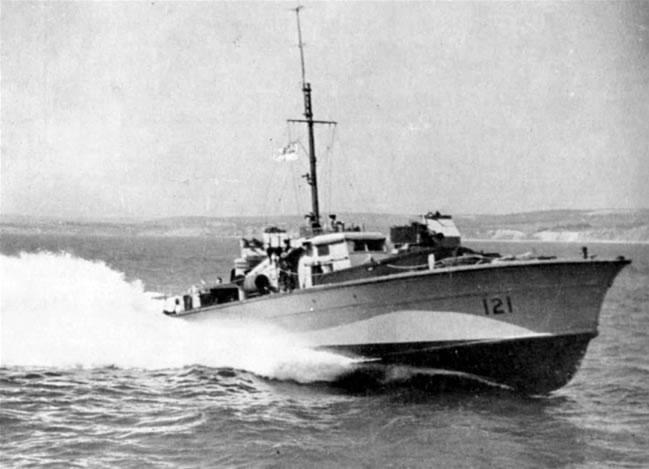 Vedettes lance-torpilles  (ROYAL NAVY) Hms20m13