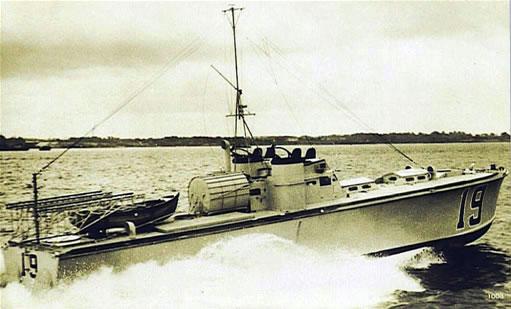 Vedettes lance-torpilles  (ROYAL NAVY) Hms20m14