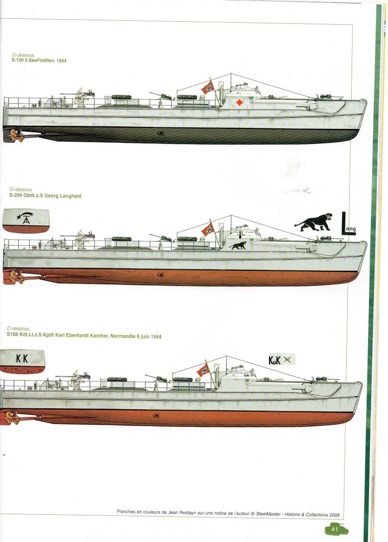 Schnellboot  ( Vedettes lance-torpilles) Img03610