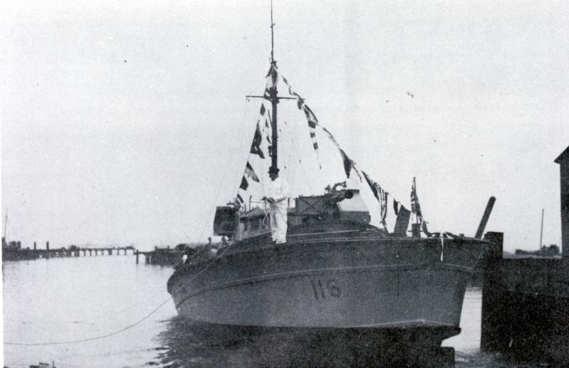 Vedettes lance-torpilles  (ROYAL NAVY) Mgb11610