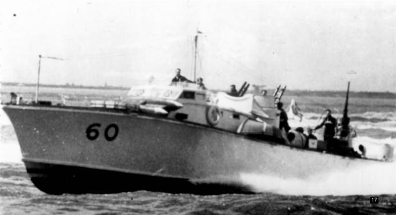 Vedettes lance-torpilles  (ROYAL NAVY) Mgb20011