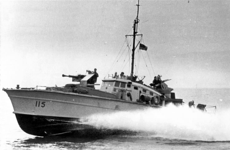 Vedettes lance-torpilles  (ROYAL NAVY) Mgb20012