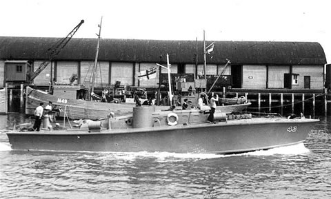 Vedettes lance-torpilles  (ROYAL NAVY) Mgb20410